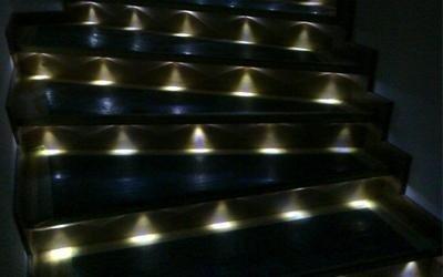 scale illuminate con led