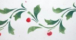 stencil floreale