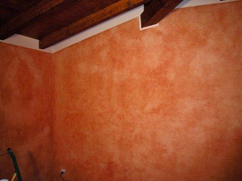 parete effetto spugna