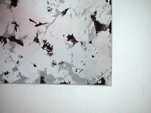 pareti personalizzate argentate