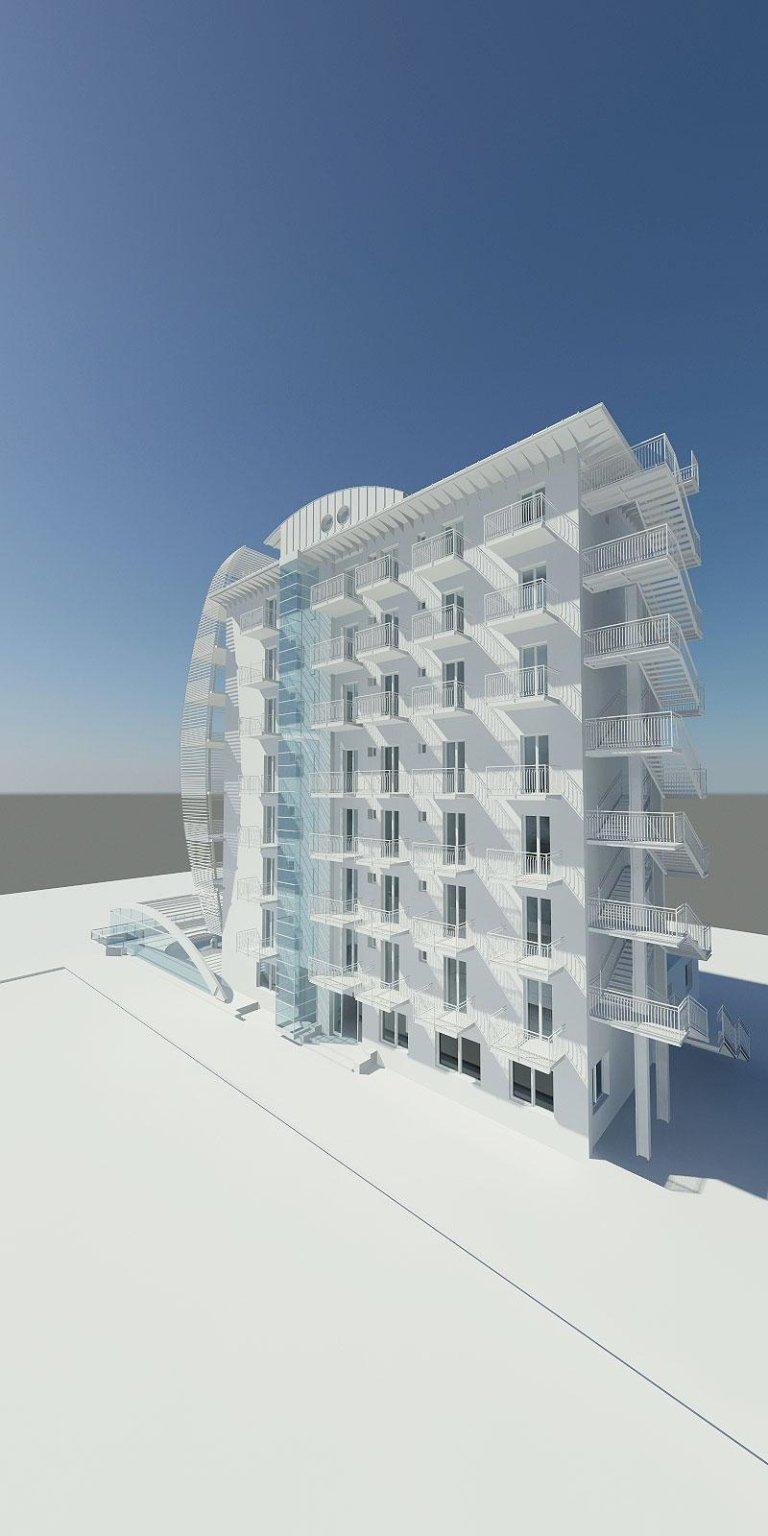 progetto ampliamento hotel (arch. Massimo Rinaldo)