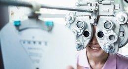 visita per valutare la gradazione delle lenti