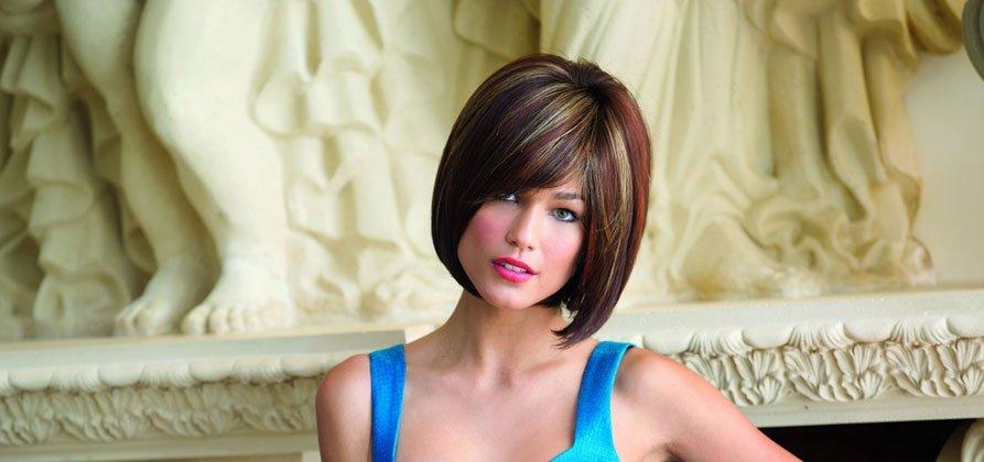Stylish hair wig