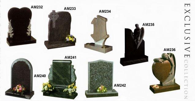 Grave stone designs
