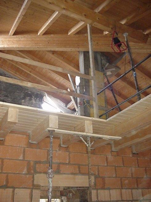 realizzazione solaio in legno