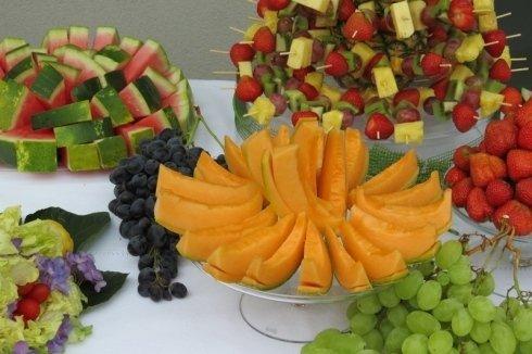 Presentazione frutta fresca