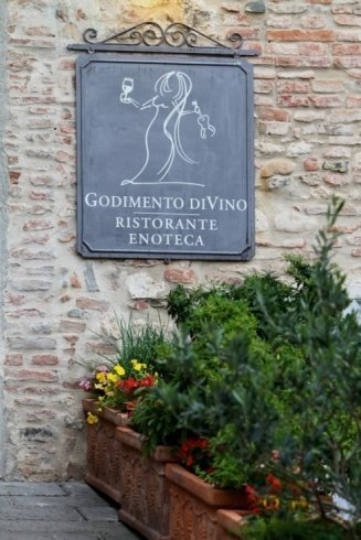 ristorante enoteca Montepulciano