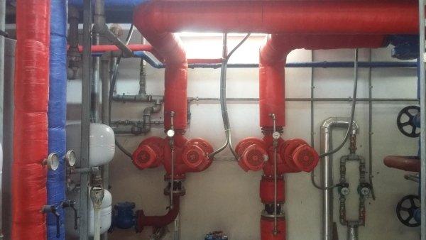 tubature impianto con valvole