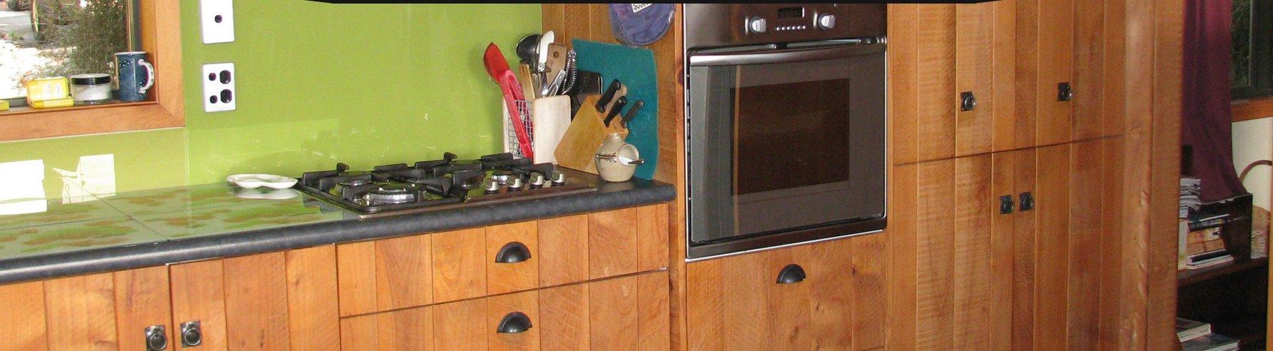 Wooden style kitchen