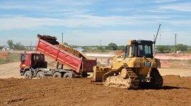 lavorazione terra, stabilimento edile