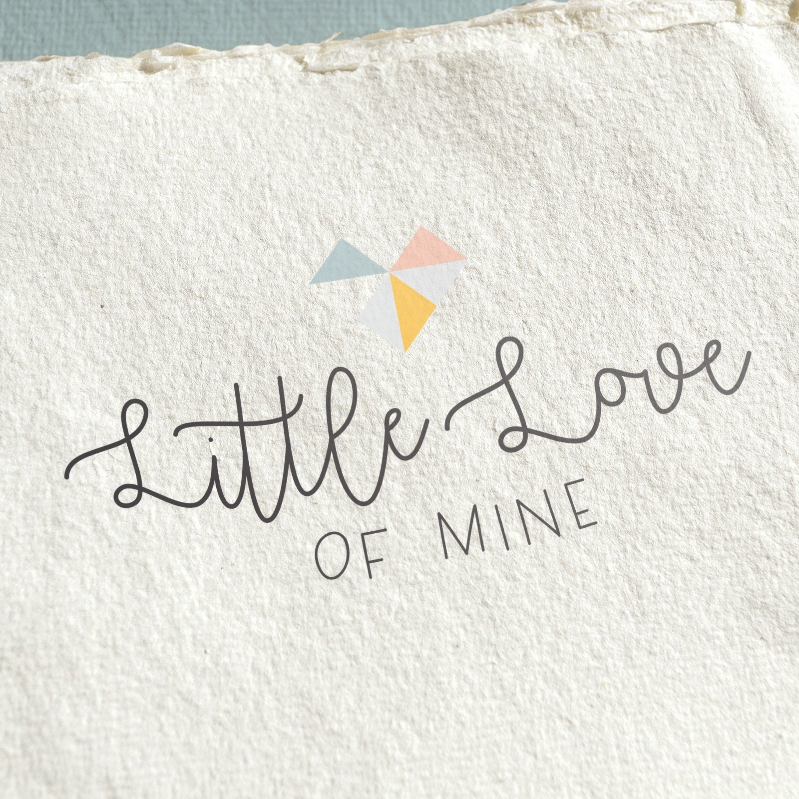 Little Love of Mine Logo Design