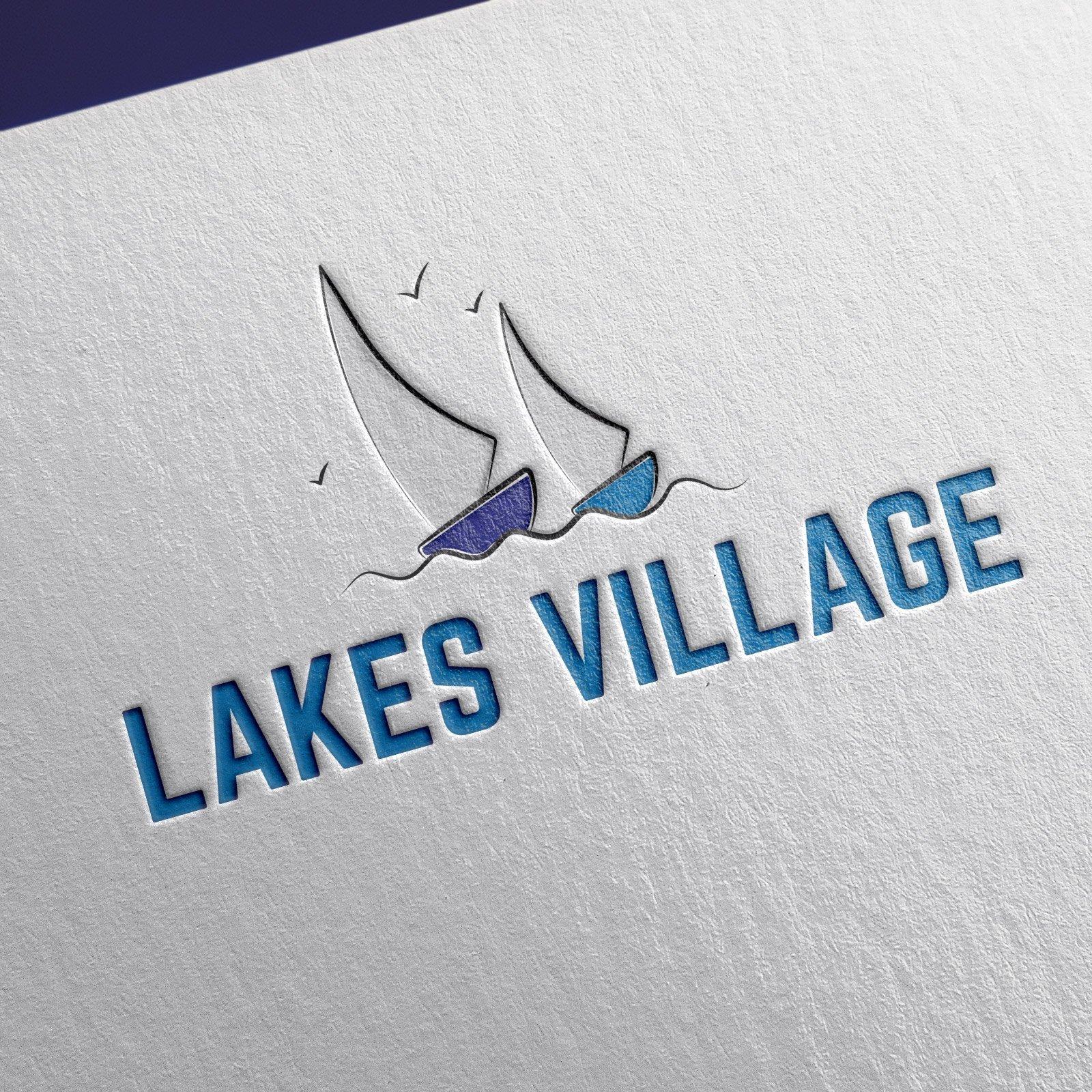 Lakes Village Logo Design