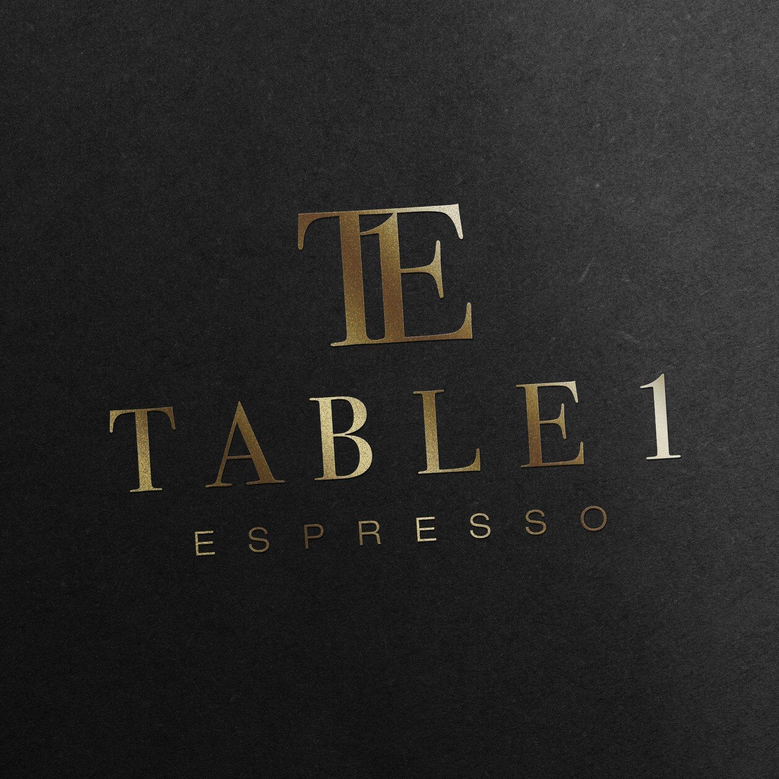 Table 1 Espresso Logo