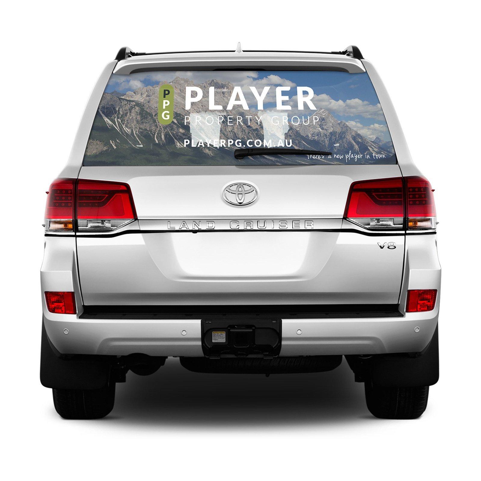 Player Property Group Car Wrap