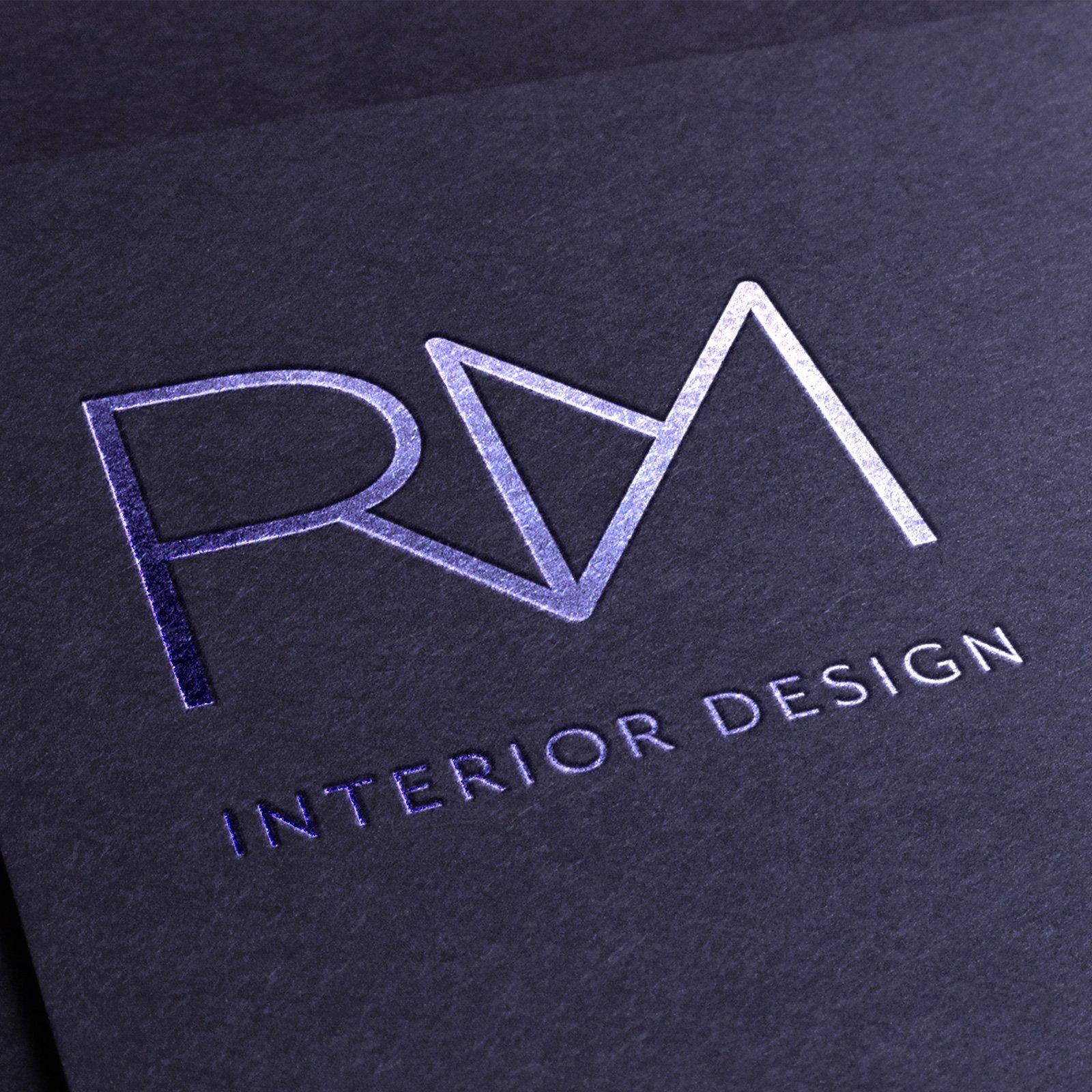 RM Interior Design Logo Design