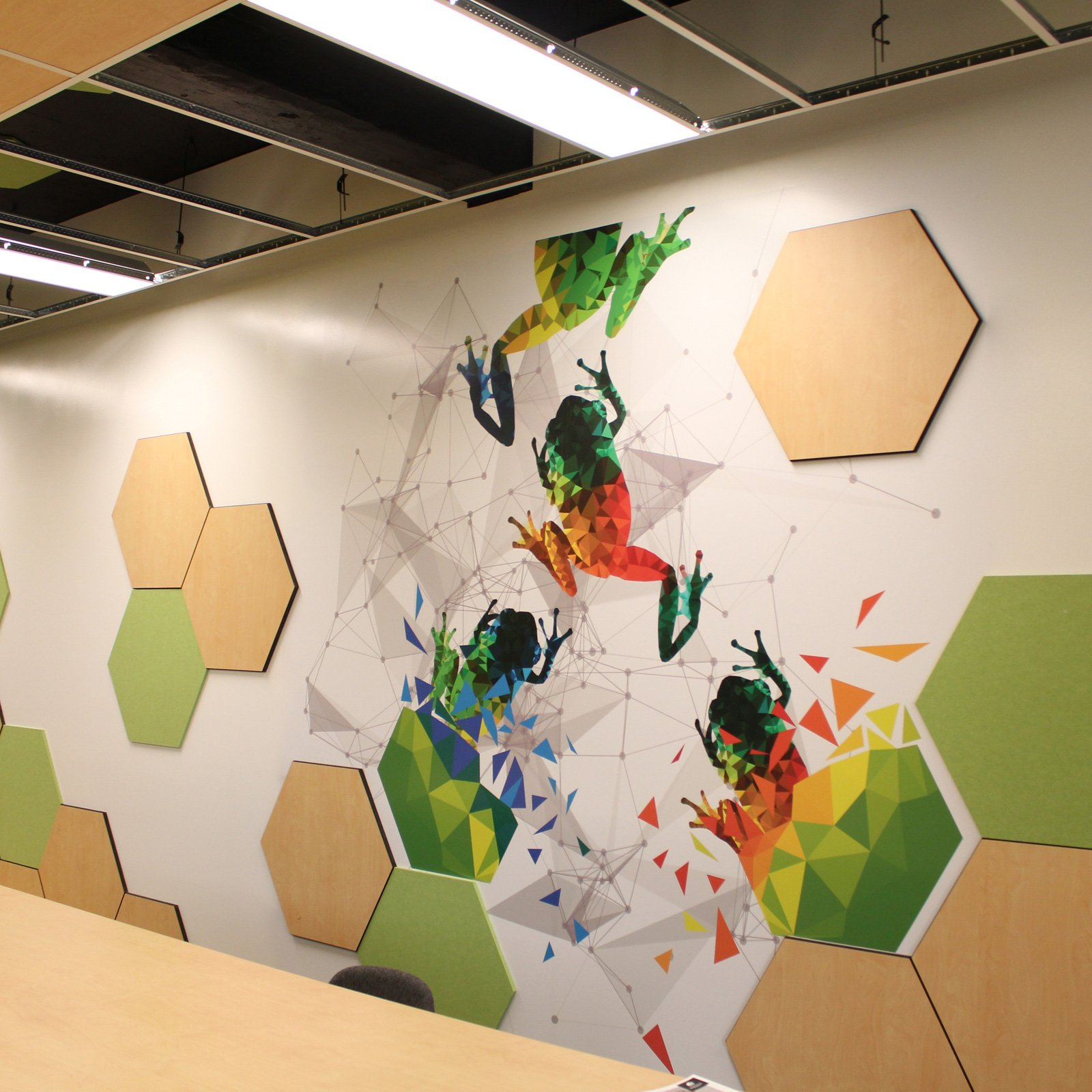 University of Newcastle Vinyl Wall Graphic