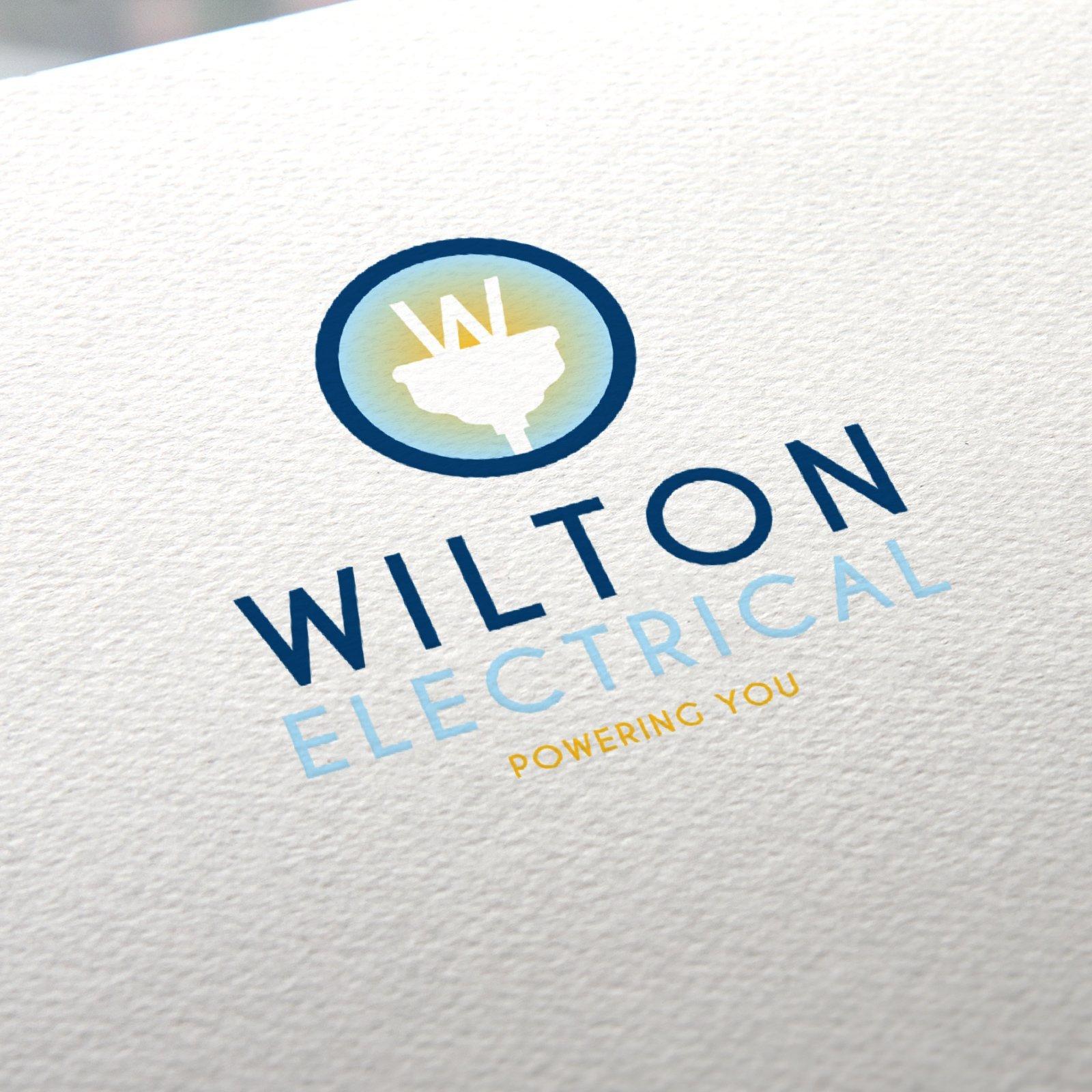 Wilton Electrical Logo Design