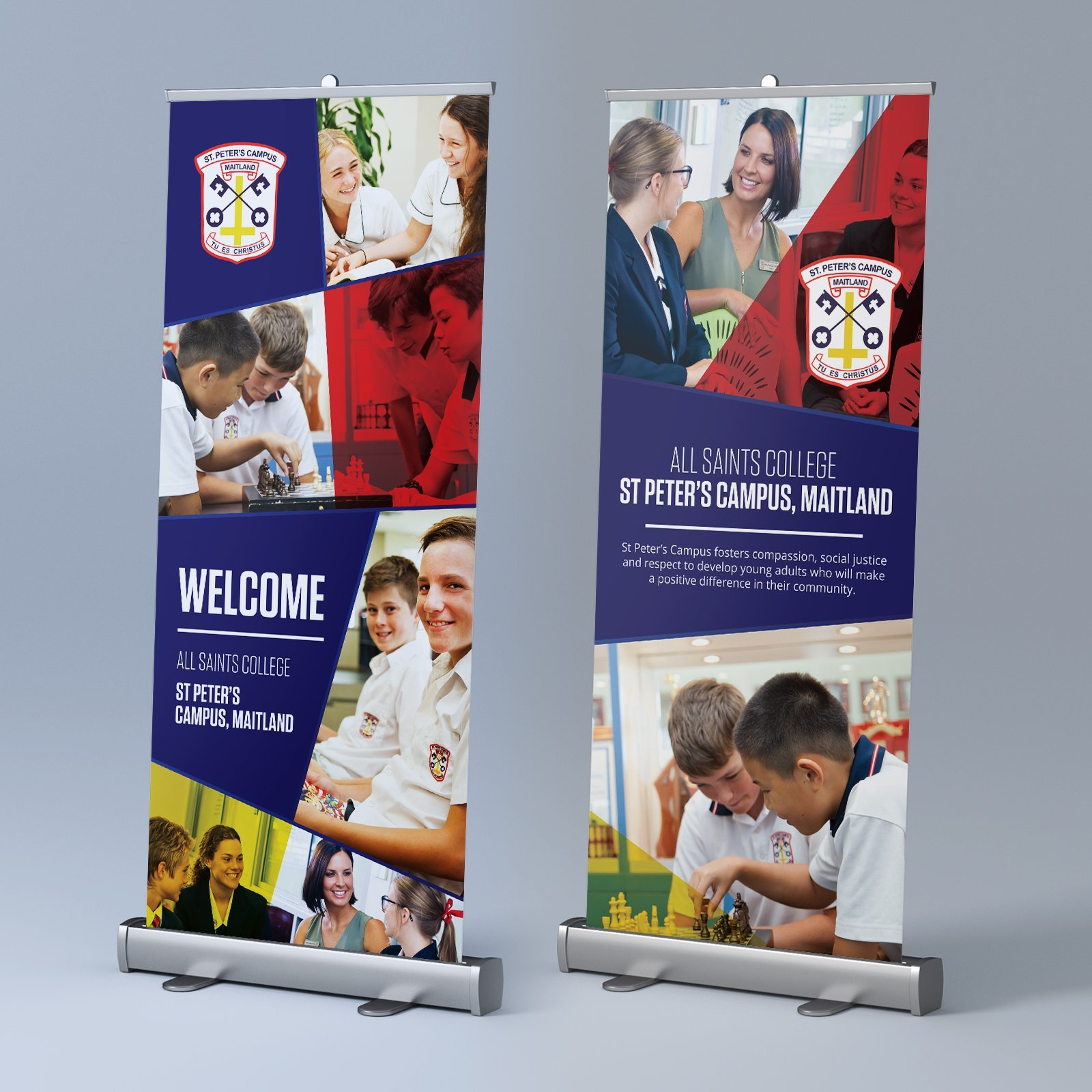 Catholic Schools Office Event Day Rollup Banner