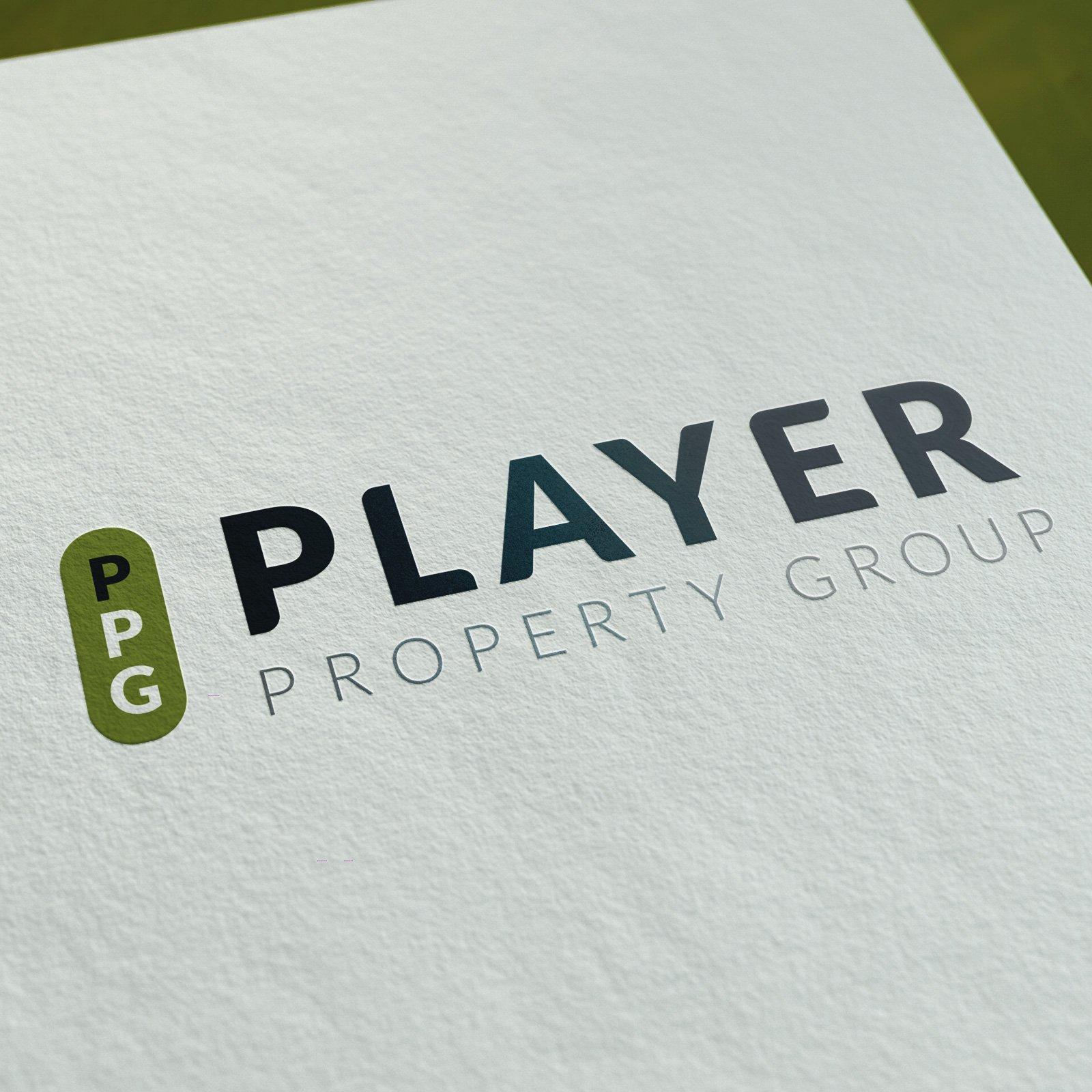 Player Property Group Logo Design