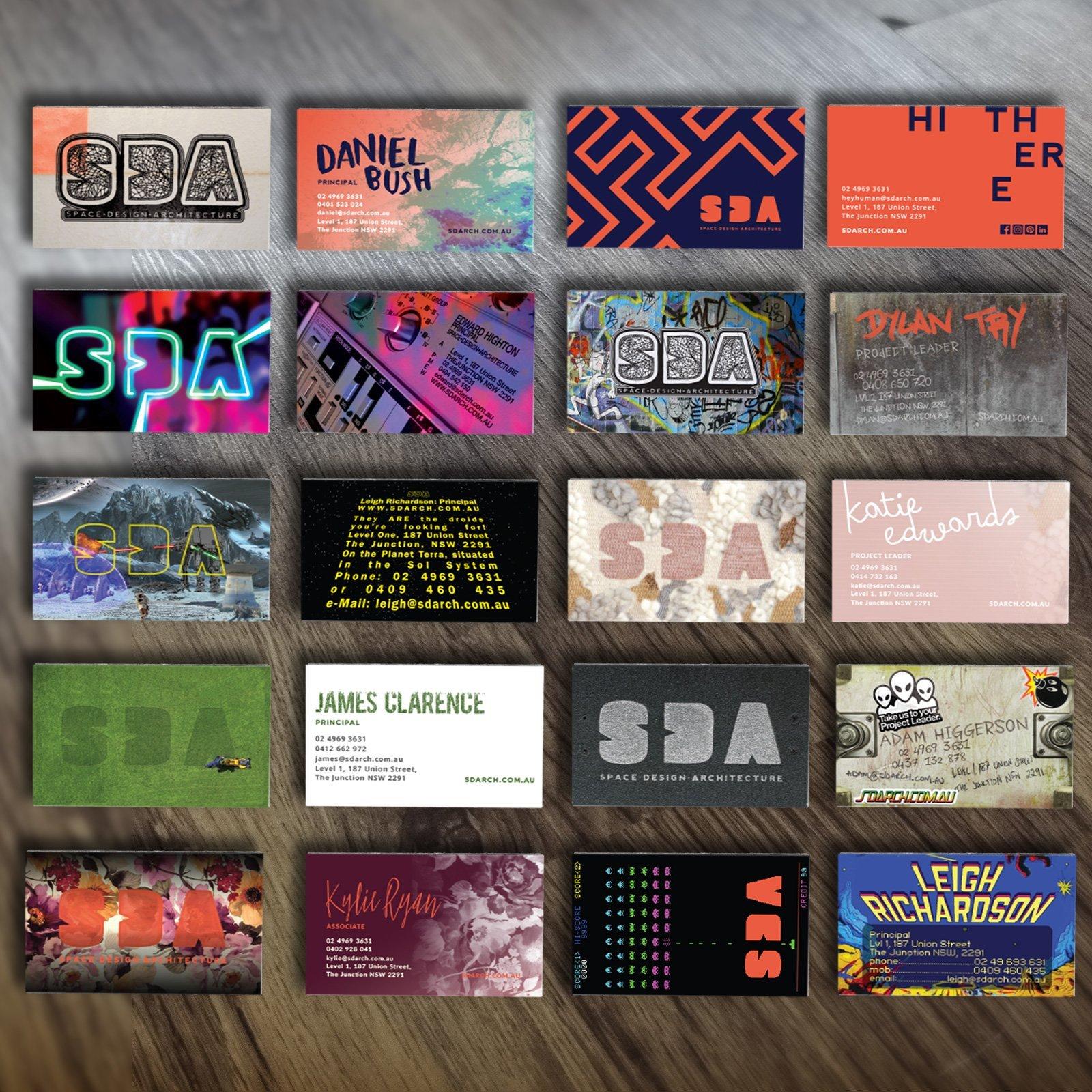 SDA Business Cards