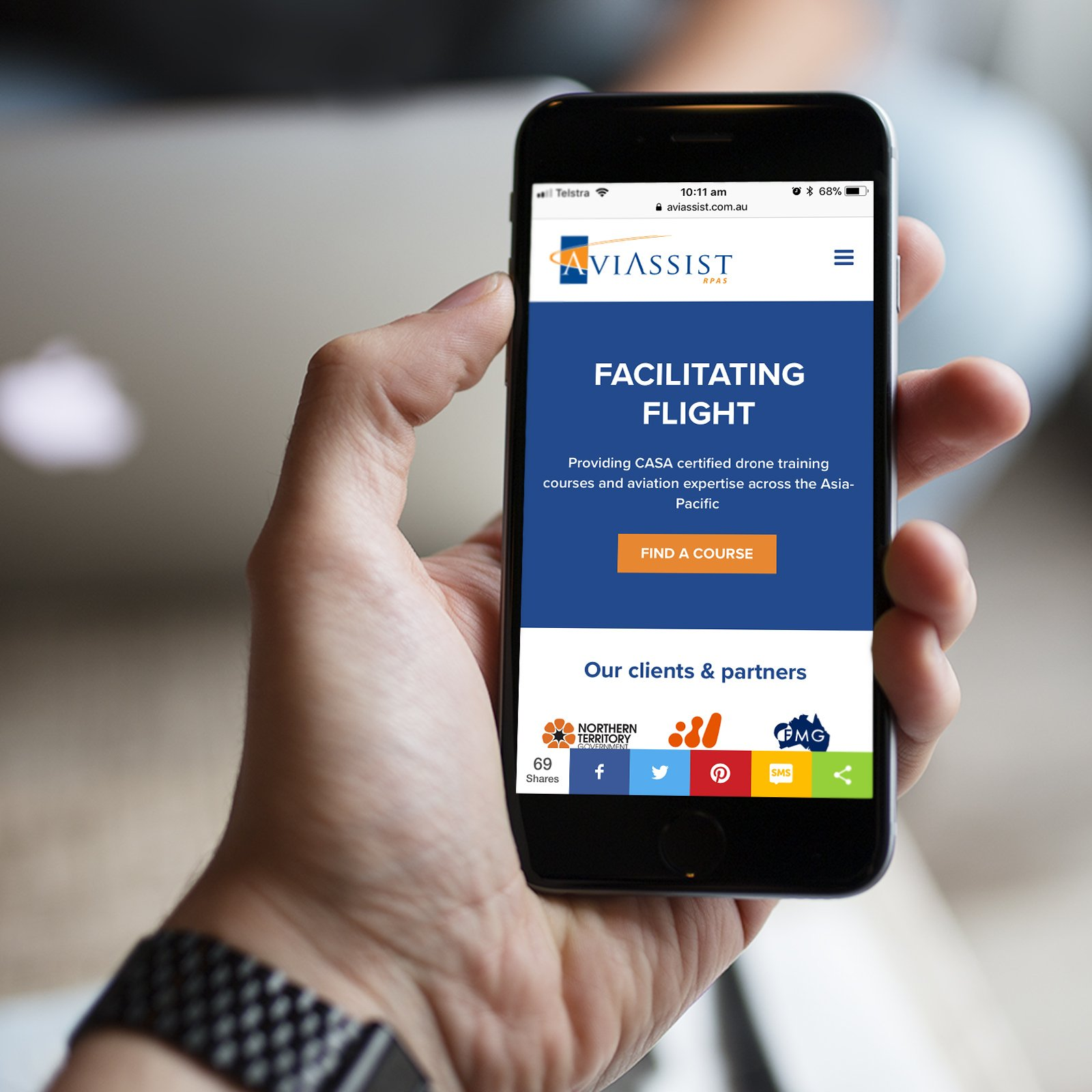 Aviassist Responsive Website