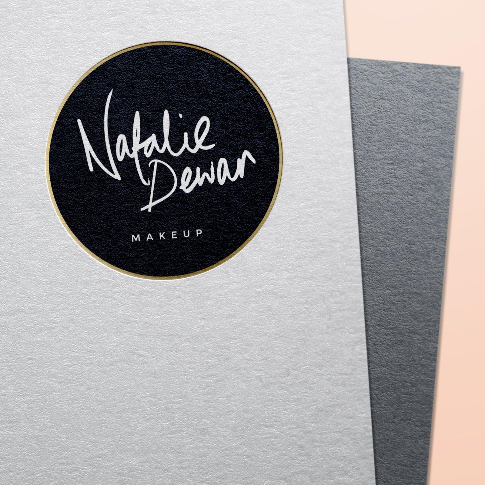 Natalie Dewar Makeup Logo Design
