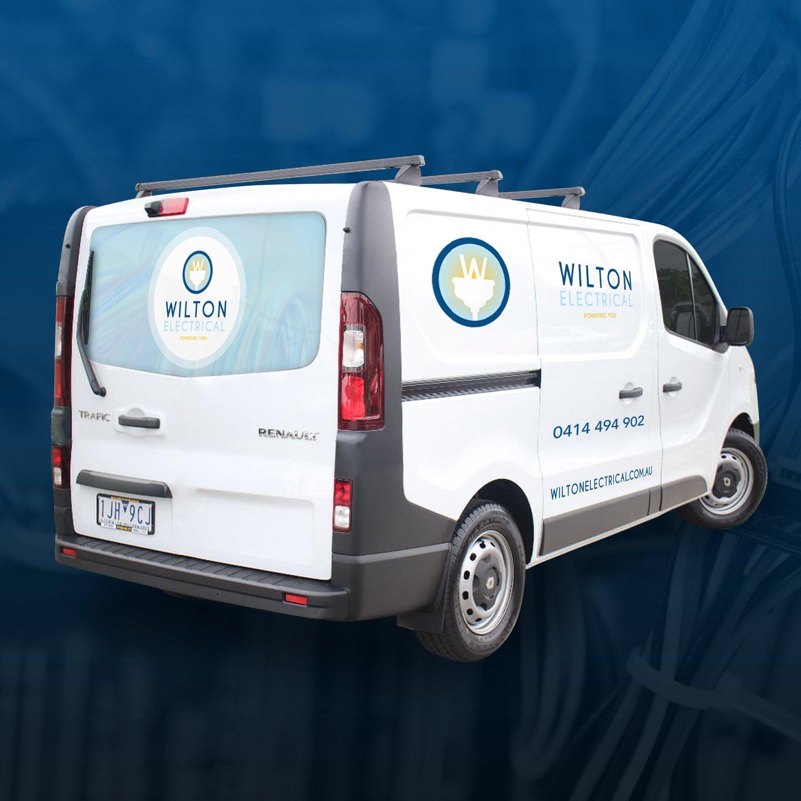 Wilton Electrical Van Wrap