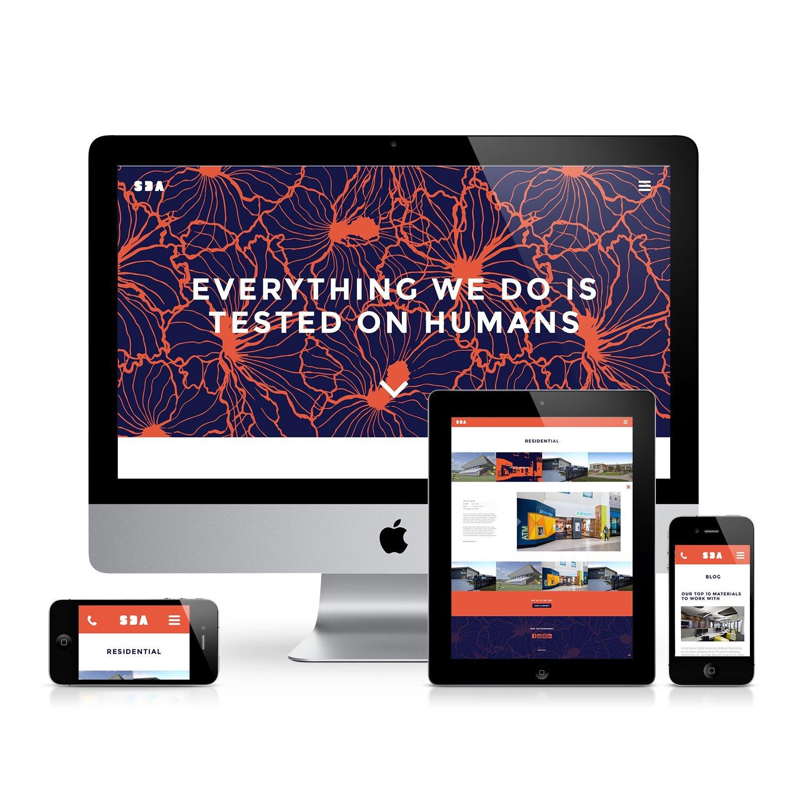 SDA Responsive Website