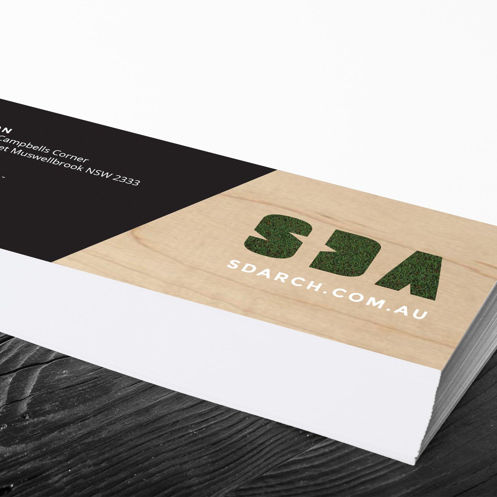 SDA Title Block