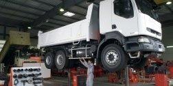 manutenzione e assistenza camion