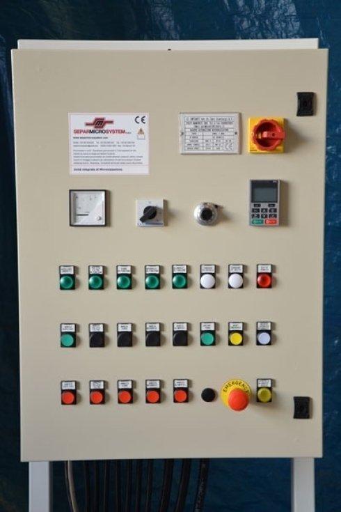 Quadro elettrico per micronizzatore