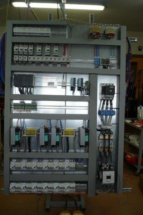 Quadro per automazione forno PTFE
