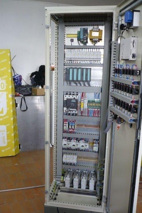 Quadro elettrico per estrusore PTFE