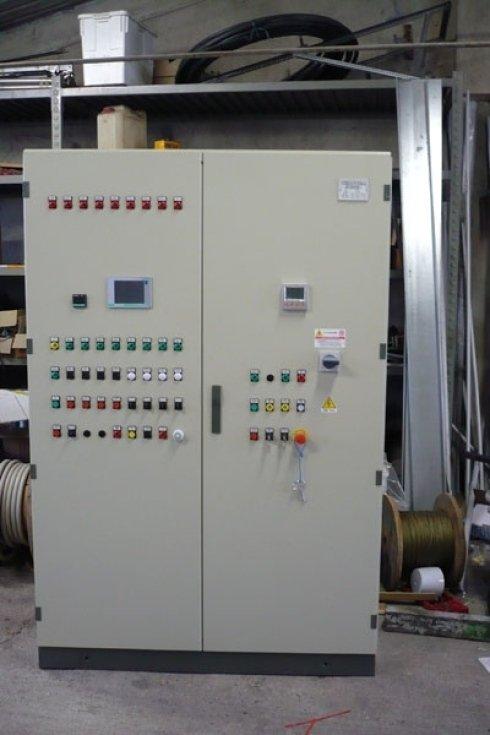 Quadro elettrico per forno PTFE