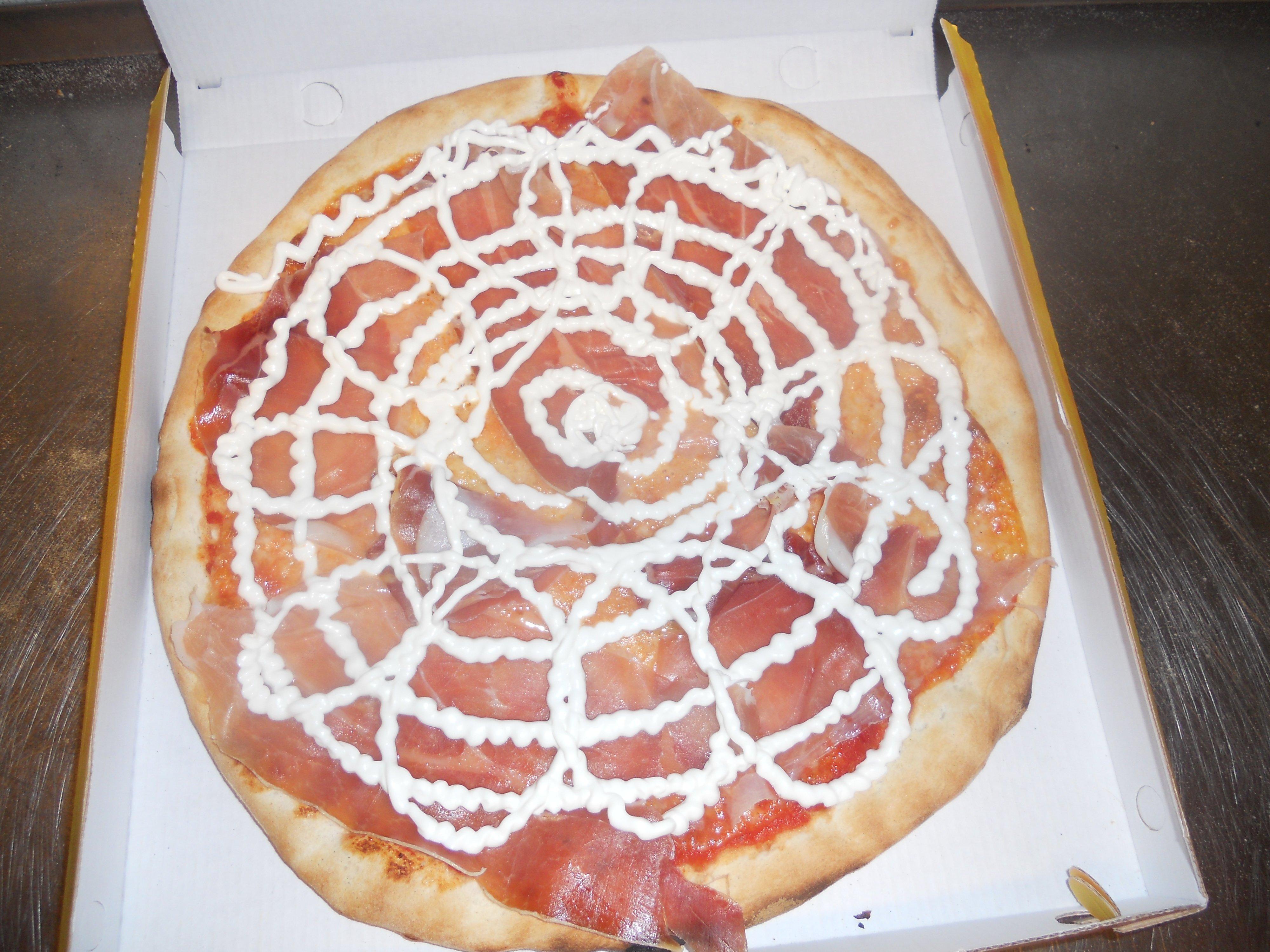 pizza con maionese