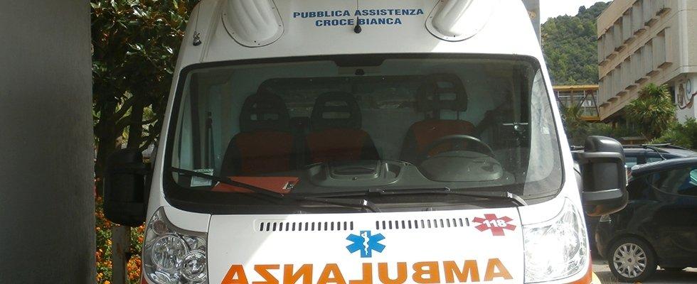 trasporto sanitario con ambulanza