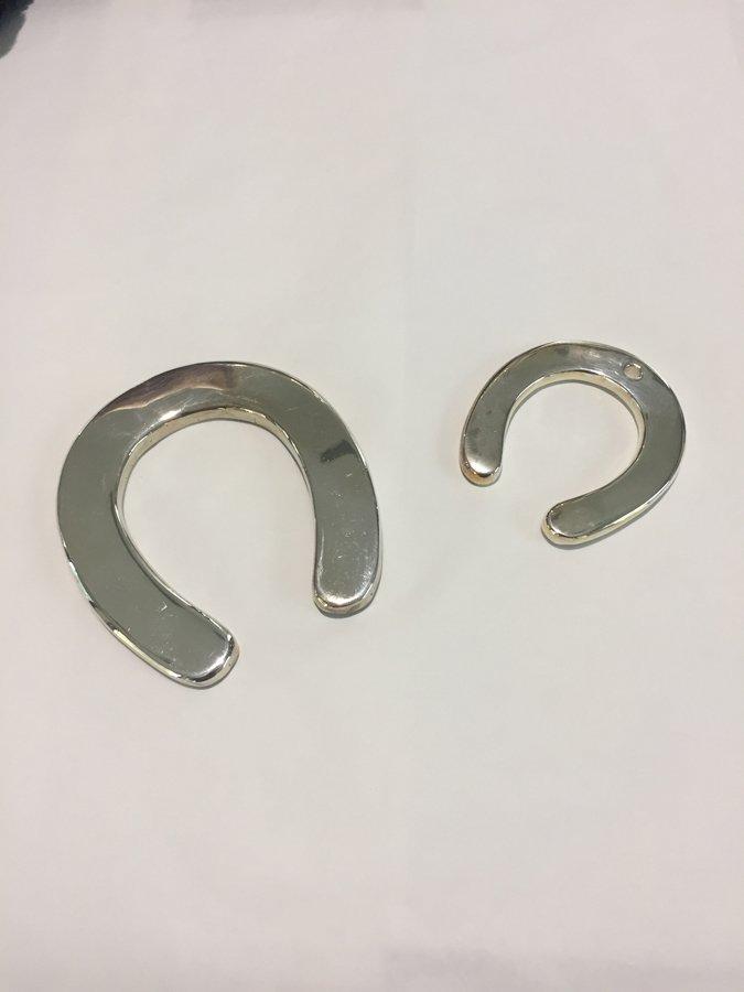 ferro di cavallo in argento
