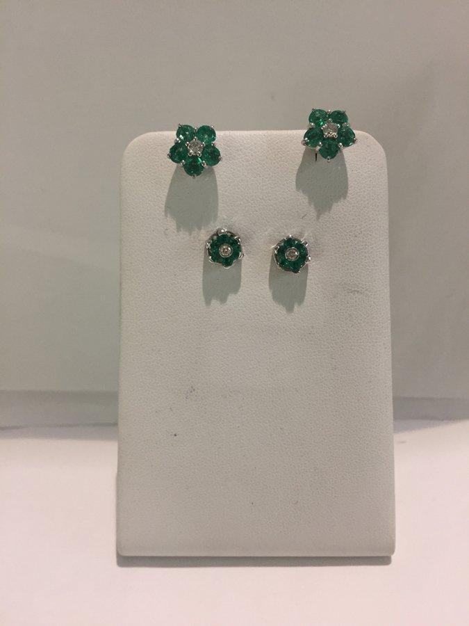orecchini di smeraldo