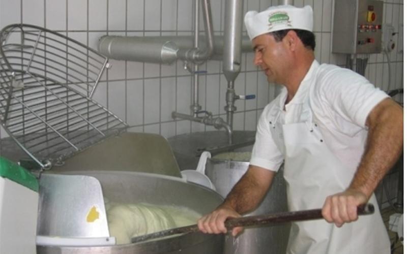 produzione artigianale di prodotti caseari