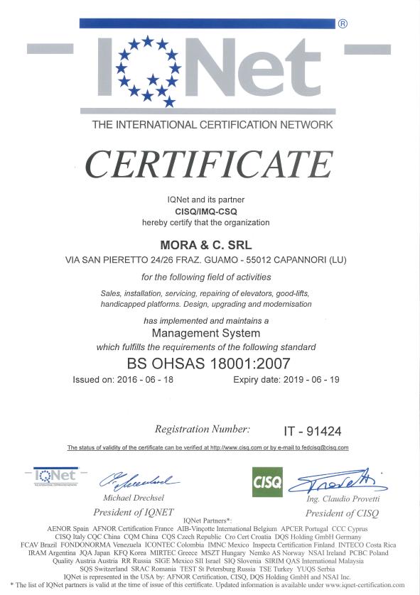 certificato inet