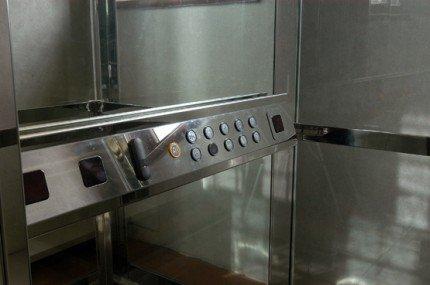 interno di un ascensore
