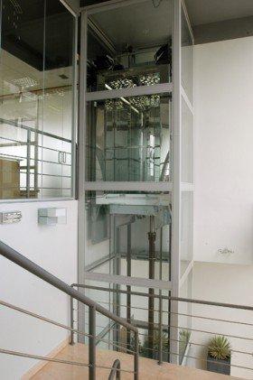 motore di un ascensore