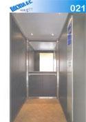 un ascensore in vetro con numero di modello 21