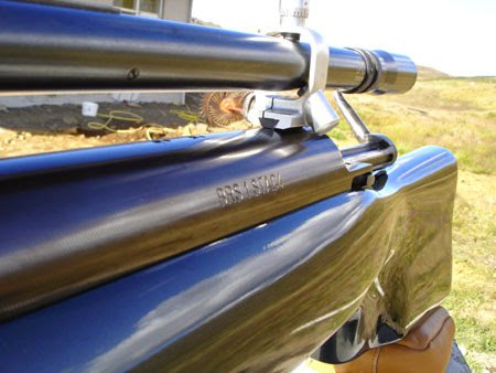 1000 rifle ready for shooting