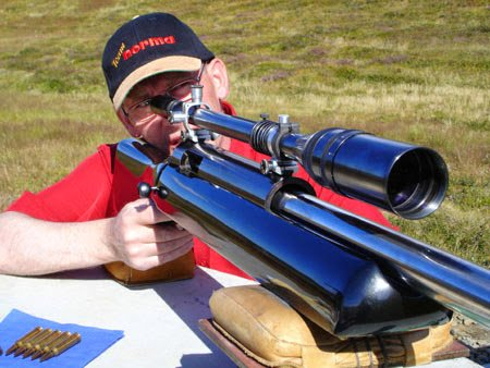 Shooting 1000 yards rifle