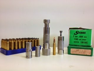 Reloading dies and bullets.