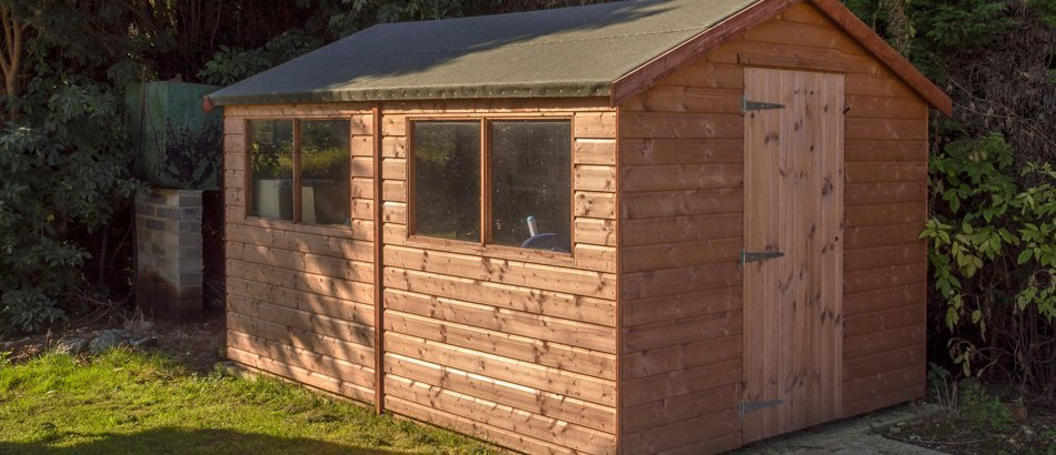 Cheap garden sheds and sturdy storage sheds in sidcup kent for Garden sheds built on site