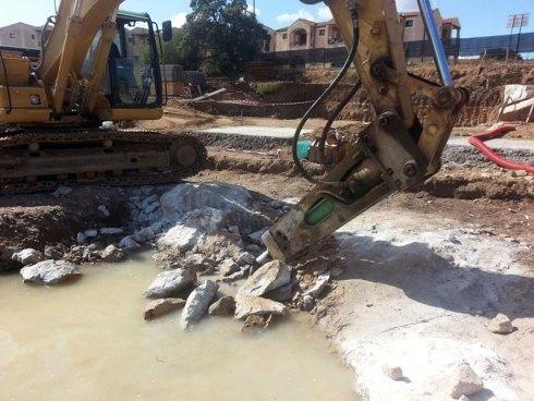 Demolizioni a martello idraulico