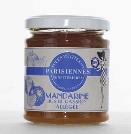 Délicieuse confiture allégée Les Petites Parisiennes saveur Mandarine