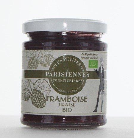 Délicieuse confiture Bio Les Petites Parisiennes saveur Framboise